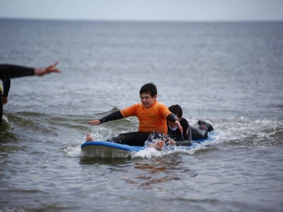 Disability Surf  Lesson