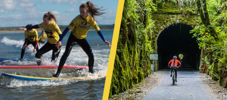 Waterford Greenway Cycle & Surf